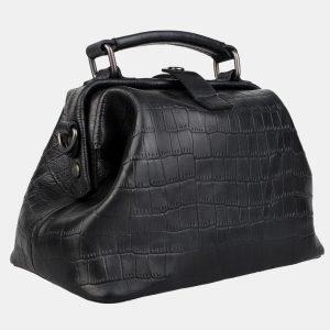 Функциональная черная женская сумка ATS-3165 213371