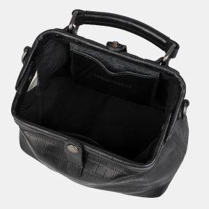 Функциональная черная женская сумка ATS-3165 213373