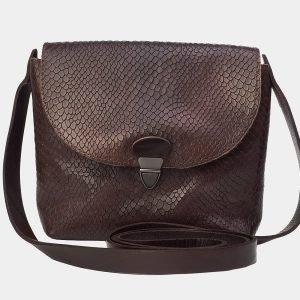Солидный коричневый женский клатч ATS-3170