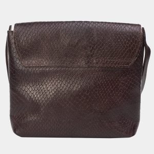 Солидный коричневый женский клатч ATS-3170 213362