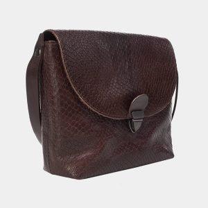 Солидный коричневый женский клатч ATS-3170 213361