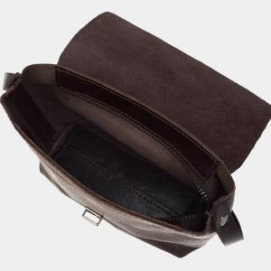 Солидный коричневый женский клатч ATS-3170 213363