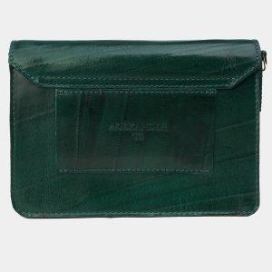 Деловая зеленая женская сумка на пояс ATS-3175 213352