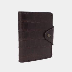 Уникальная коричневая визитница ATS-3177 213340