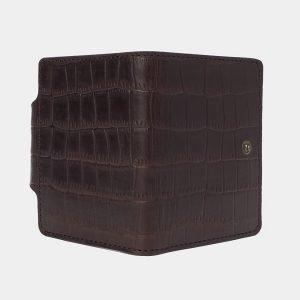 Уникальная коричневая визитница ATS-3177 213341