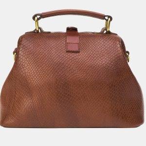 Модная светло-коричневая женская сумка ATS-3205 213291