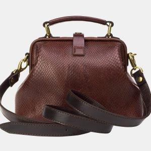 Деловая светло-коричневая женская сумка ATS-3206