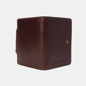Уникальная светло-коричневая визитница ATS-3207 213281