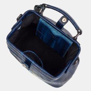 Неповторимая синяя сумка с росписью ATS-3232 213193