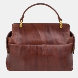 Солидная светло-коричневая сумка с росписью ATS-3237 213167