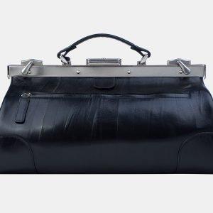 Деловой черный саквояж с росписью ATS-3211 213271