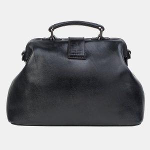 Вместительная черная сумка с росписью ATS-3239 213157