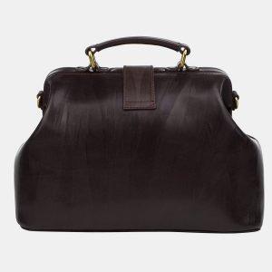 Функциональная коричневая сумка с росписью ATS-3243 213137