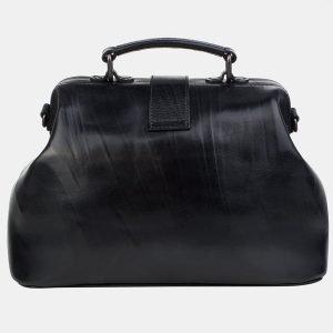Модная черная сумка с росписью ATS-3242 213142