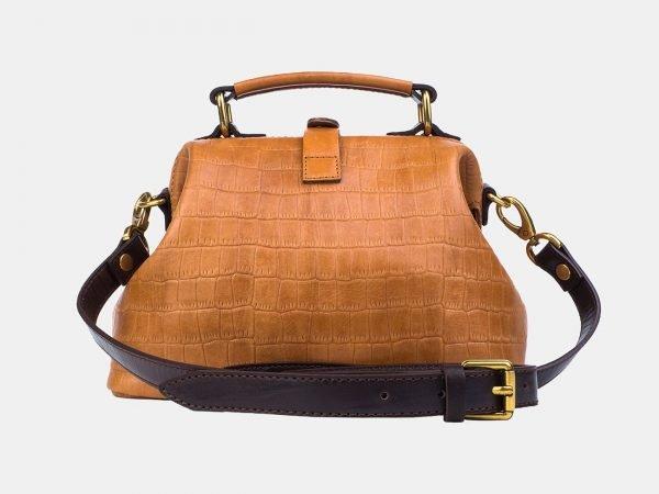 Функциональная светло-жёлтая женская сумка ATS-3245