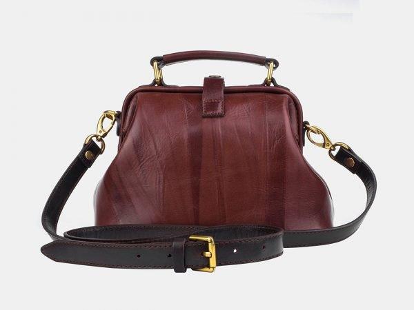 Кожаная светло-коричневая женская сумка ATS-3249