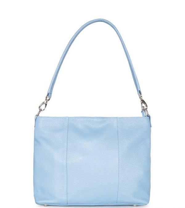 Модная голубая женская сумка FBR-1239