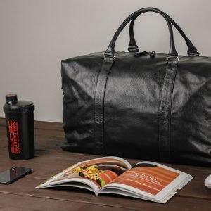 Вместительная черная мужская сумка BRL-1686