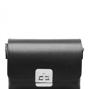 Вместительная черная женская сумка FBR-2638