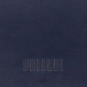 Кожаная синяя мужская сумка через плечо BRL-7393 220545