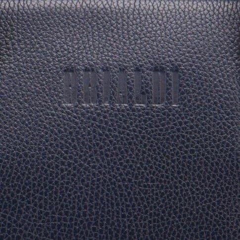 Солидная синяя мужская сумка трансформер через плечо BRL-23168