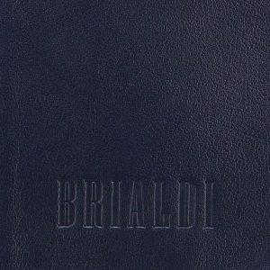 Функциональная синяя мужская кожгалантерея BRL-7238