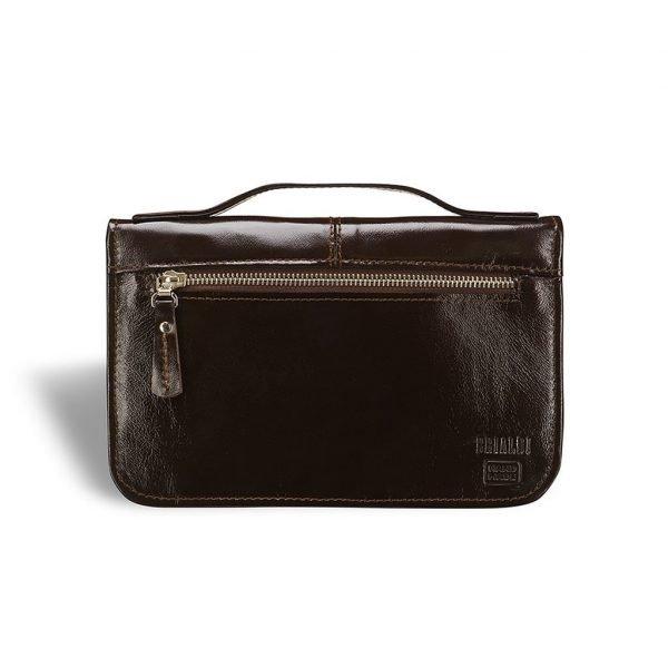 Кожаный коричневый мужской аксессуар BRL-7254