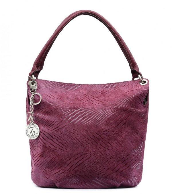 Неповторимая бордовая женская сумка FBR-2602