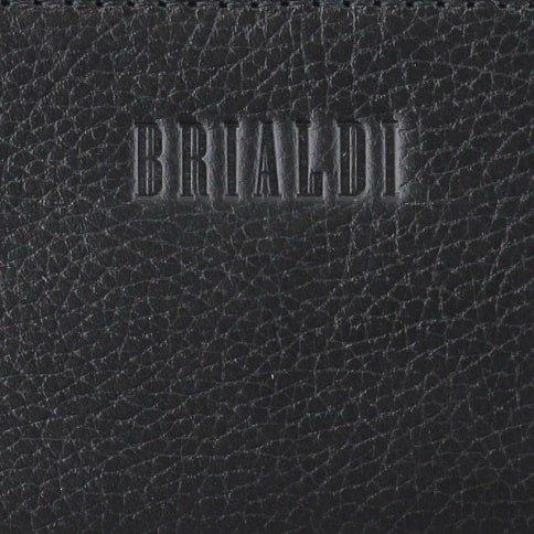 Кожаный черный мужской аксессуар BRL-28560