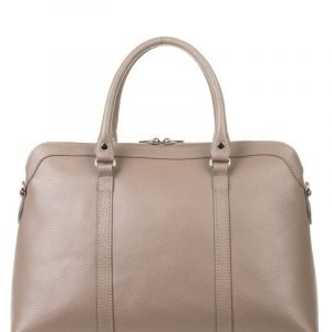 Кожаная бежевая женская сумка FBR-2604