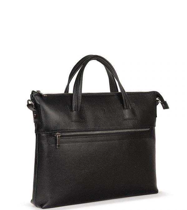 Модная черная мужская сумка FBR-2608