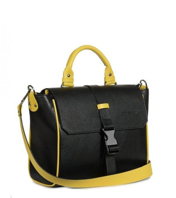 Удобная черная женская сумка FBR-2513
