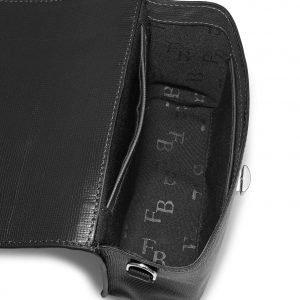 Вместительная черная женская сумка FBR-2638 219025