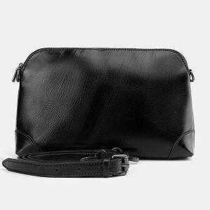 Деловая черная женская сумка ATS-3773