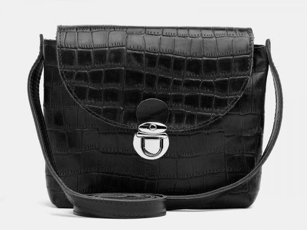 Модный черный женский клатч ATS-3781