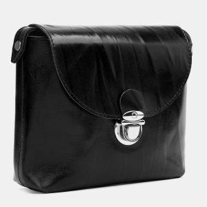 Удобный черный женский клатч ATS-3780 211247