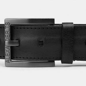 Неповторимый черный мужской джинсовый ремень ATS-3938 210468