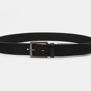 Деловой черный мужской джинсовый ремень ATS-3940