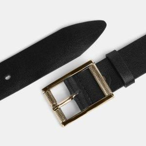 Неповторимый черный женский джинсовый ремень ATS-3950 210419