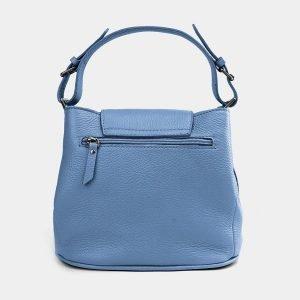 Стильная голубая женская сумка ATS-3741 211388