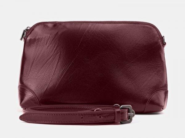 Модная бордовая женская сумка ATS-3877