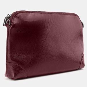 Модная бордовая женская сумка ATS-3877 210781