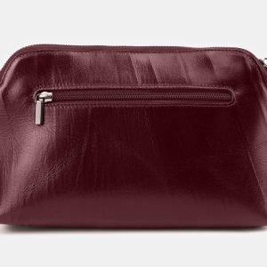 Модная бордовая женская сумка ATS-3877 210782