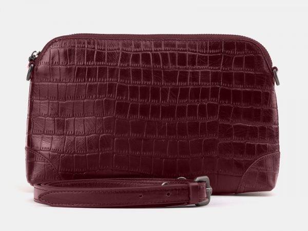 Удобная бордовая женская сумка ATS-3878