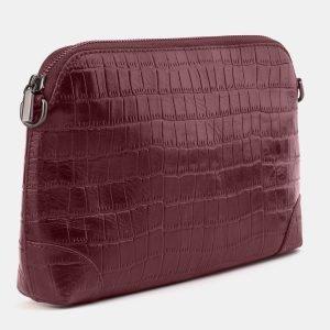 Удобная бордовая женская сумка ATS-3878 210776
