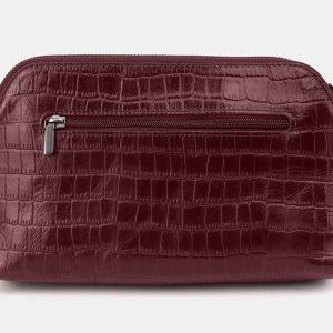 Удобная бордовая женская сумка ATS-3878 210777