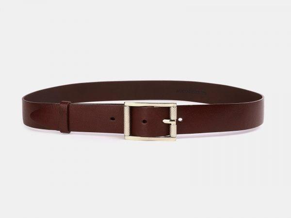 Удобный светло-коричневый женский джинсовый ремень ATS-3951