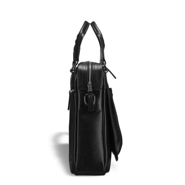 Функциональная черная мужская классическая сумка BRL-9