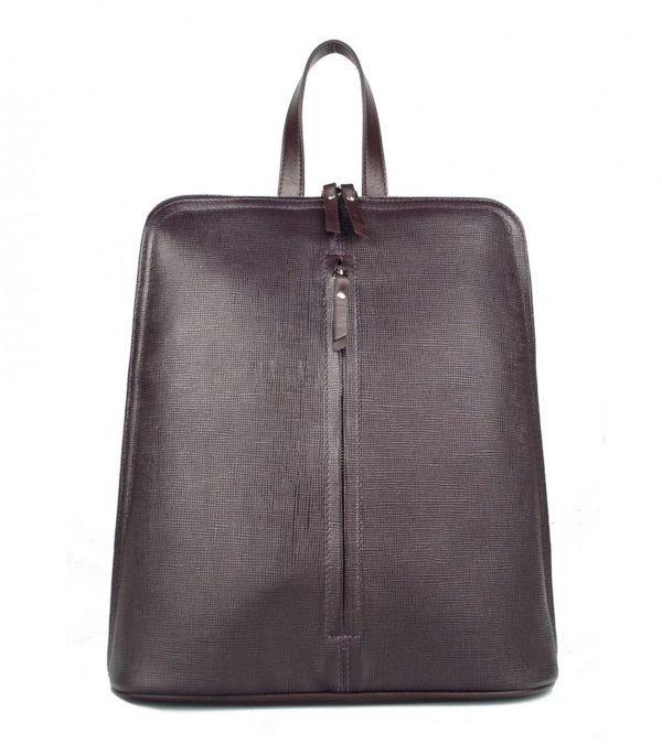 Деловой фиолетовый женский рюкзак FBR-2324