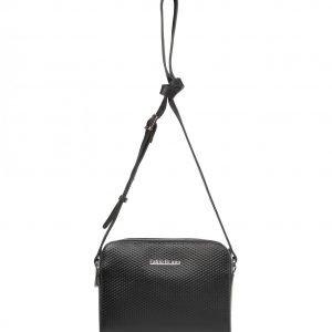 Стильная черная женская сумка через плечо FBR-2152